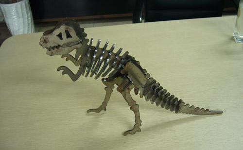 线切割恐龙图纸免费下载