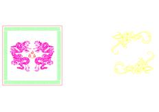 线切割2D-双龙戏珠,线切割图纸免费下载
