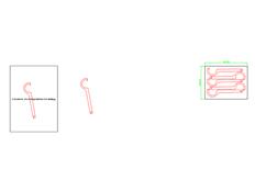 线切割2D-切割头扳手,线切割图纸免费下载